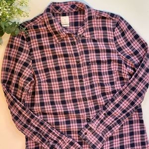 Women's Gap flannel top